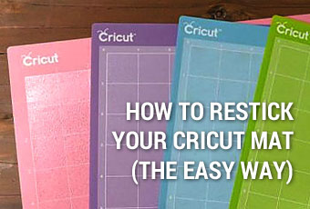 How To Restick Your Cricut Mat (The Easy Way)