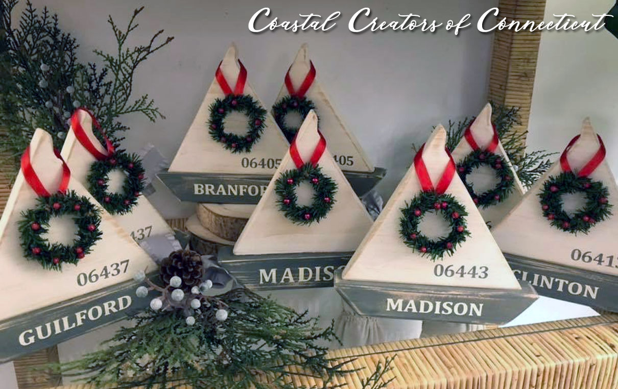 Handmade Nautical Wood Sailboats - Personalized Nautical Decor