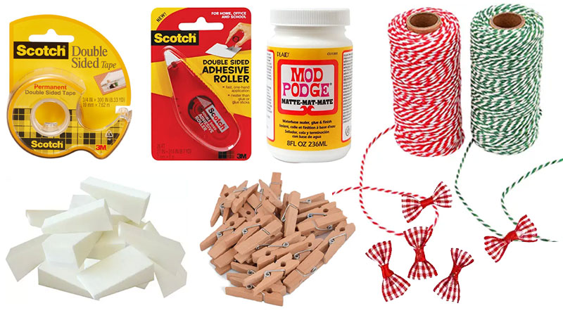 Wooden Christmas Tree Supplies List