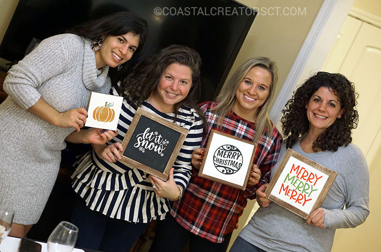 How to Host a Fun Wood Sign Making Party