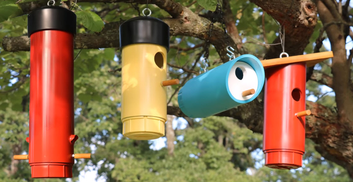 PVC DIY Free Birdhouse Plans