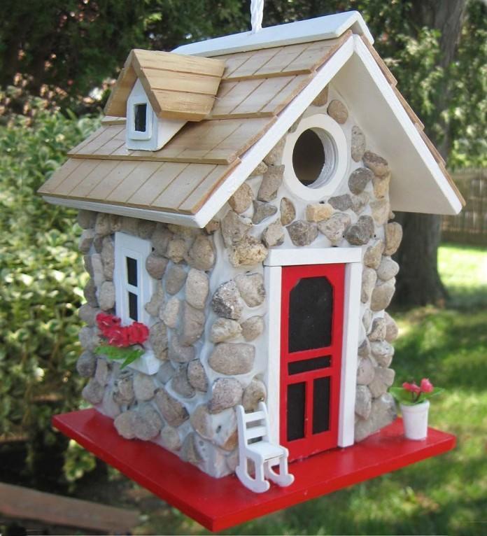 Rock Bird House