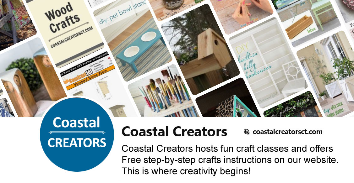 Coastal Creators on Pinterest