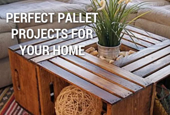 Pallet Wood Furniture and Home Project Ideas