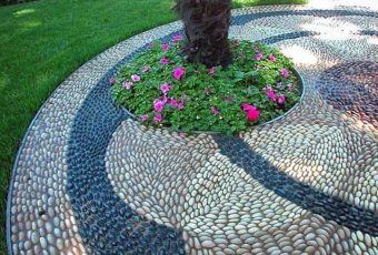 Rock Flower Garden DIY Project Ideas