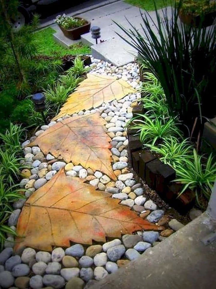 Rock Flower Garden DIY Project Ideas