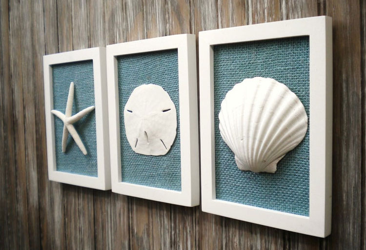 Dollar Tree Beach Wall Art