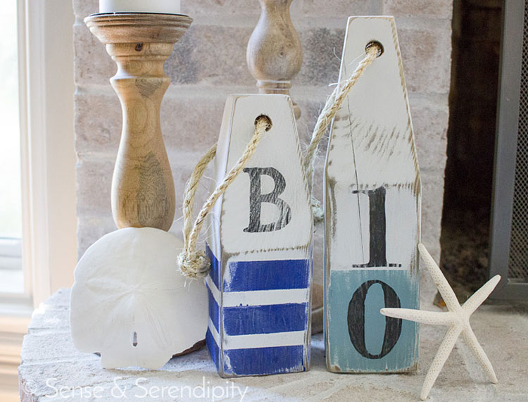DIY Wood Buoys
