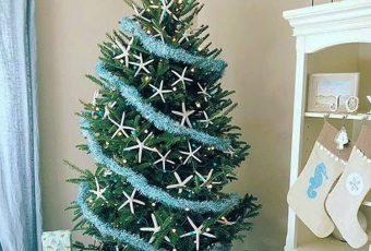 Coastal Christmas Trees