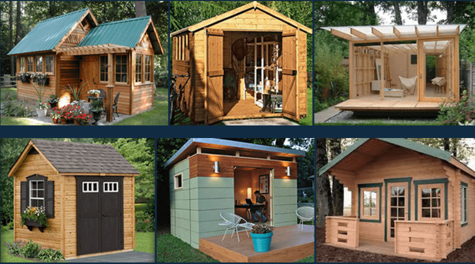Build an amazing outdoor she shed