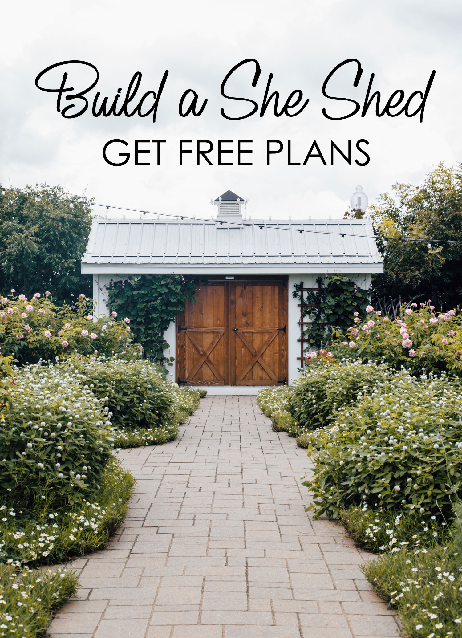 Build a She Shed in a Weekend with These Plans